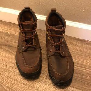 Men's 9m chukka Justin leather boots